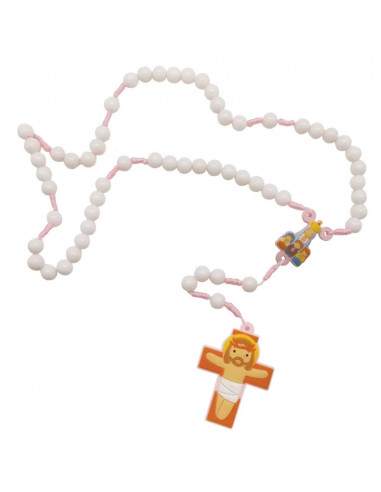 Rosary Fatima Apparition (Pink)