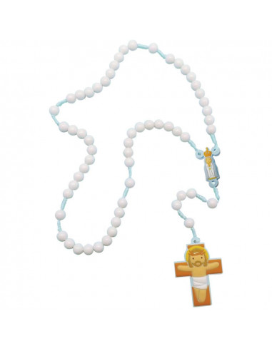 Rosary Our Lady of Fatima (Blue)