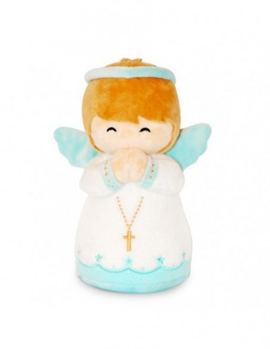 Baby Boy Guardian Angel Plush